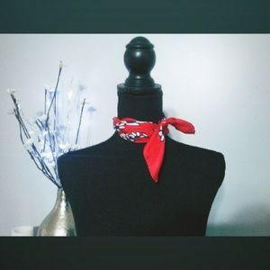Hand rolled silk scarf